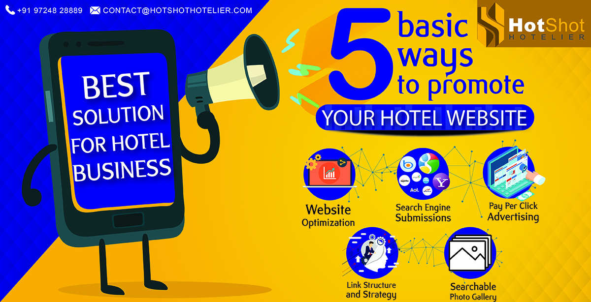 5 Basic Ways To Promote Your Hotel Website
