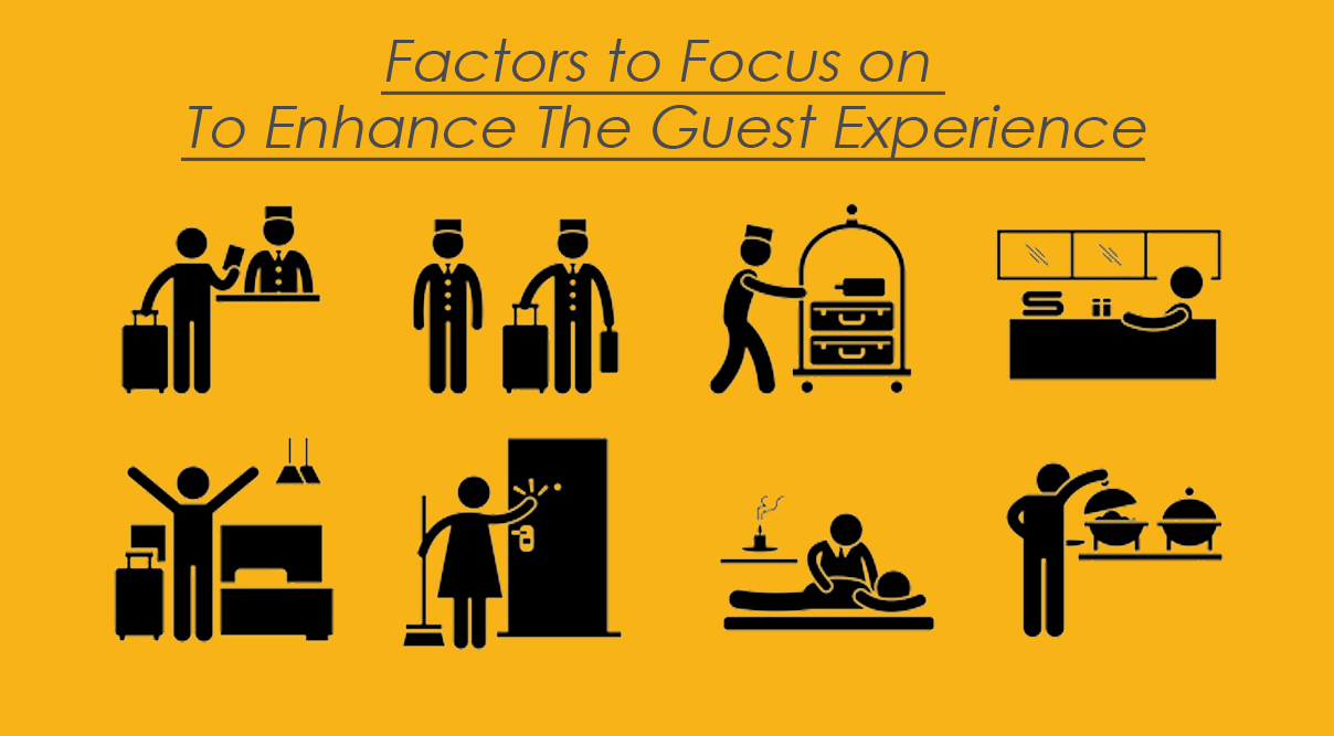 7 Factors to Focus For a Hotel to Enhance The Guest Experience